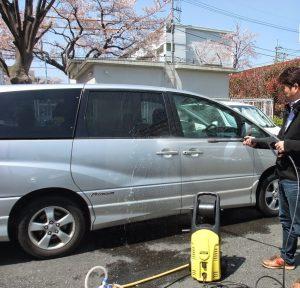 洗車にも使用できます