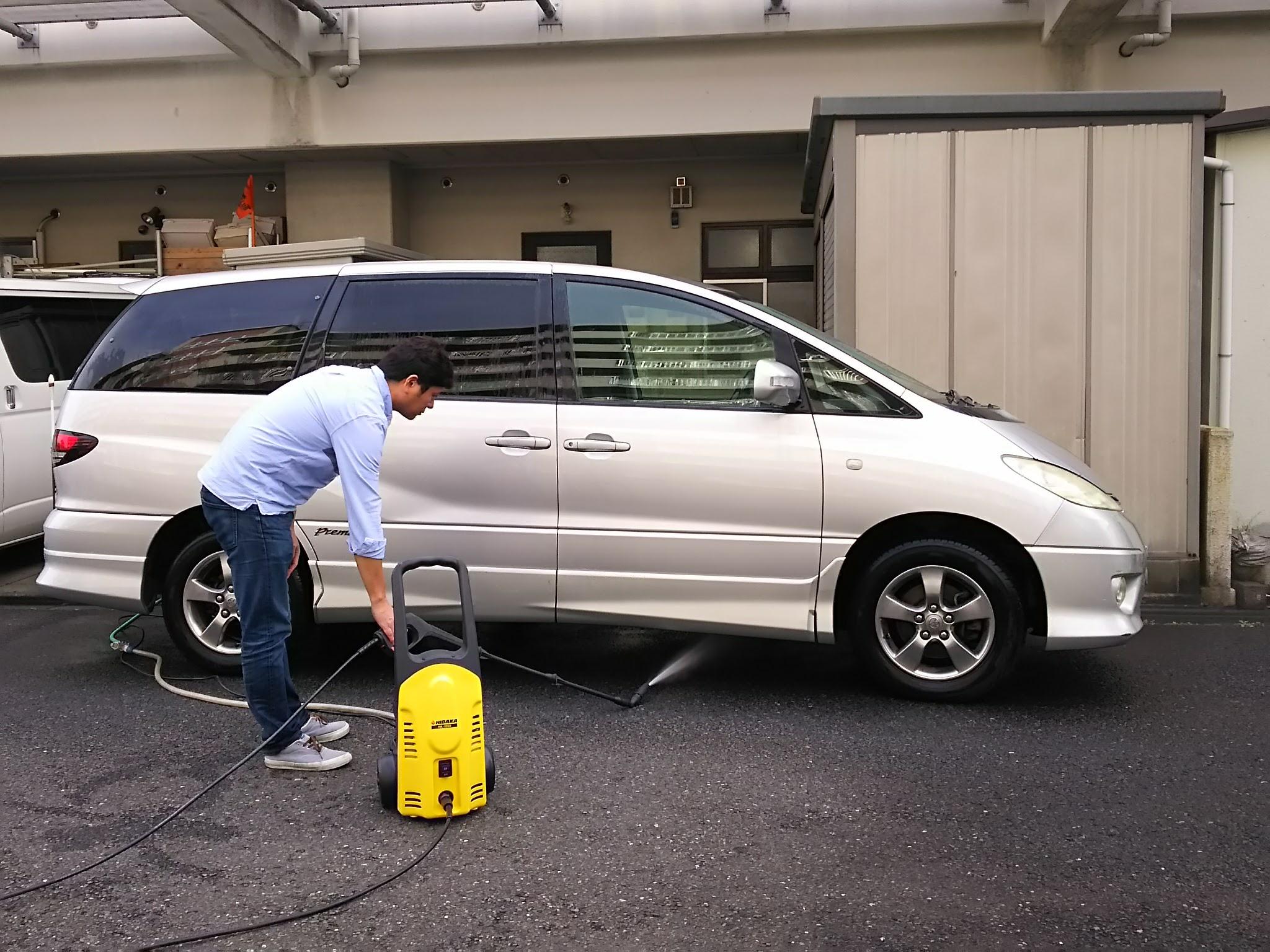 洗車(アンダーボディー)