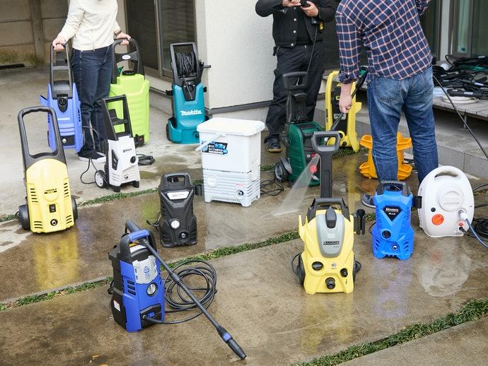 14種の高圧洗浄機を徹底比較・検証