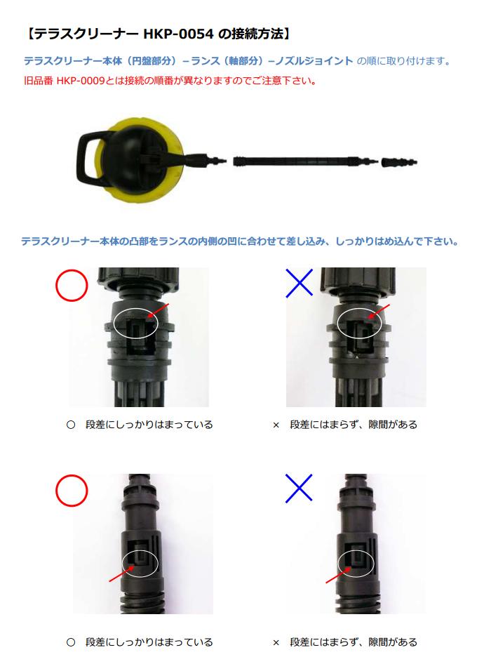 HKP-VESET取付方法
