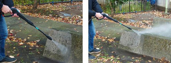 コンクリート 洗浄前